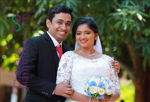 Wedding Photos of Arun Robin and Anitha Alex